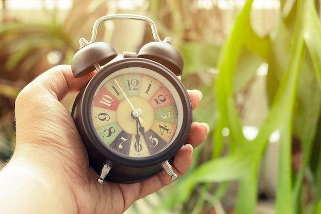 レトロな時計とアラーム
