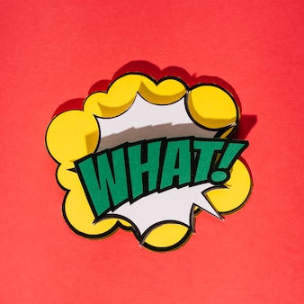 Retro comic speech bubbles with sound effects