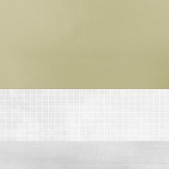 レトロな空の部屋本物のインテリアデザイン