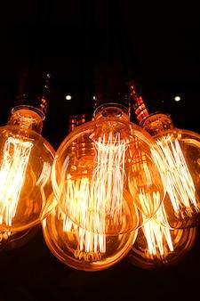 Ретро стекло эдисон лампы
