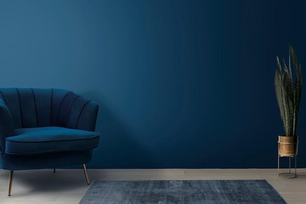 Дизайн интерьера гостиной в стиле ретро