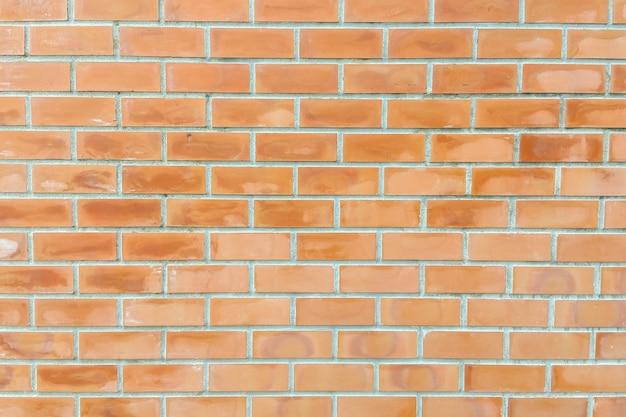 레트로 오렌지 벽돌 벽 배경