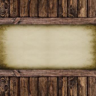 Ретро бумажная страница тетради. текстурированная древесина. фоны.