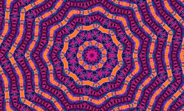 レトロなピンク、ブルー、オレンジ、スクラップブッキングのための幾何学的な形のパターン。カラフルなモザイクバナー。あなたのテキストのための場所と幾何学的な流行に敏感なレトロな背景。レトロな三角形の背景。