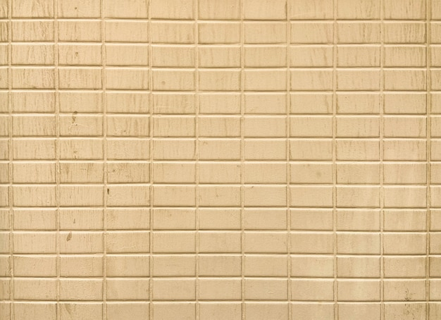 건축 외관 건물에 대한 복고풍 세피아 벽돌 벽 배경