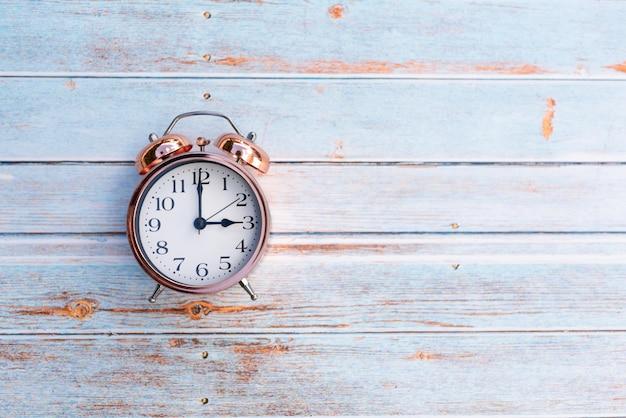 Retro vintage alarm clock
