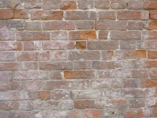 Retro vintage brick old wall texture background image.