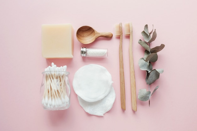 Reusable products for bathroom