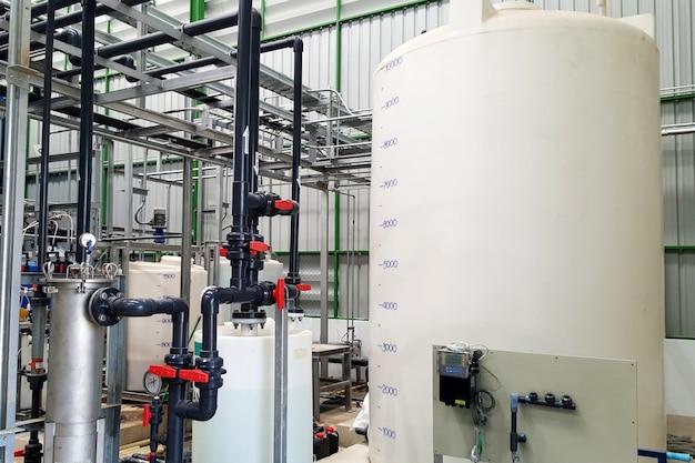 발전소 증기 터빈용 역삼투압 급수 시스템