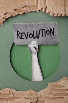 Revolution still life design