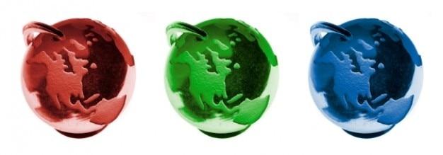 Rgbの地球儀