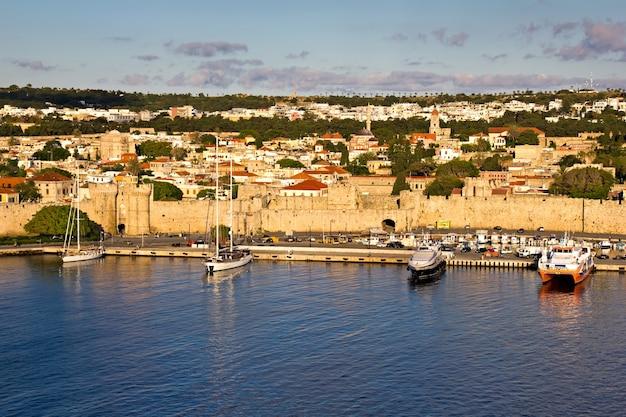 Rhodes fortification walls - greece