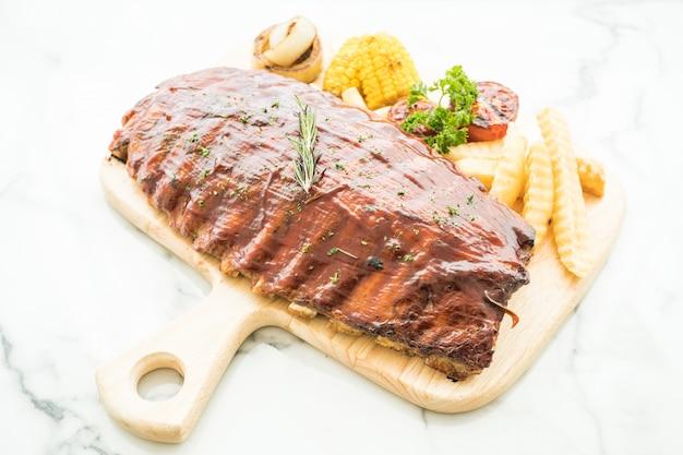 Rib barbecue
