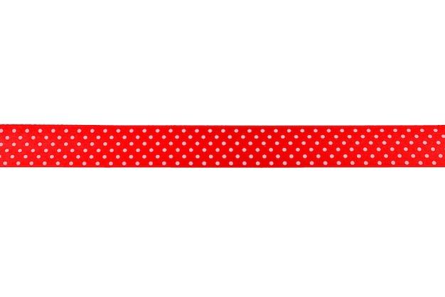 Ribbon isolated on white background.