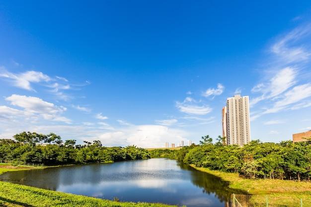 Ribeirao preto city park, aka water eyes garden