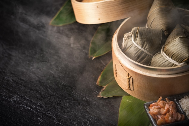 용선 축제 쌀 만두 (두안 우 축제)
