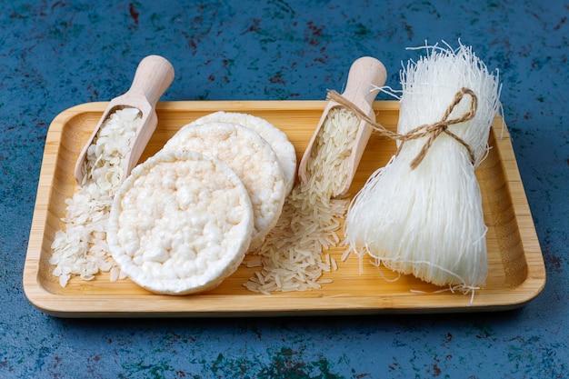 떡, 쌀국수, 떡 및 밥, 평면도