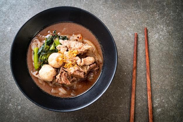 豚肉の煮込みスープ