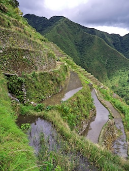 The rice terraces in banaue, philippines