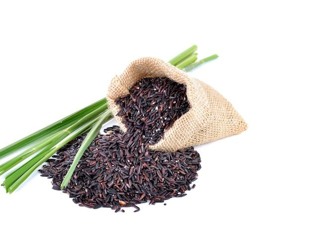 화이트에 riceberry 쌀