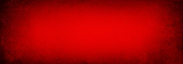 豊かな赤い背景のテクスチャ、エレガントな休日の色とデザインのビンテージ紙テクスチャバナー