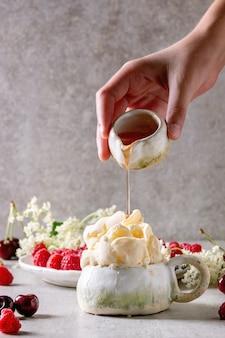 Ricotta gelato ice cream