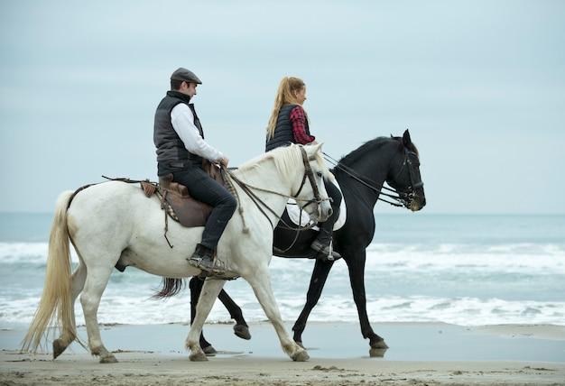 Всадники и лошади