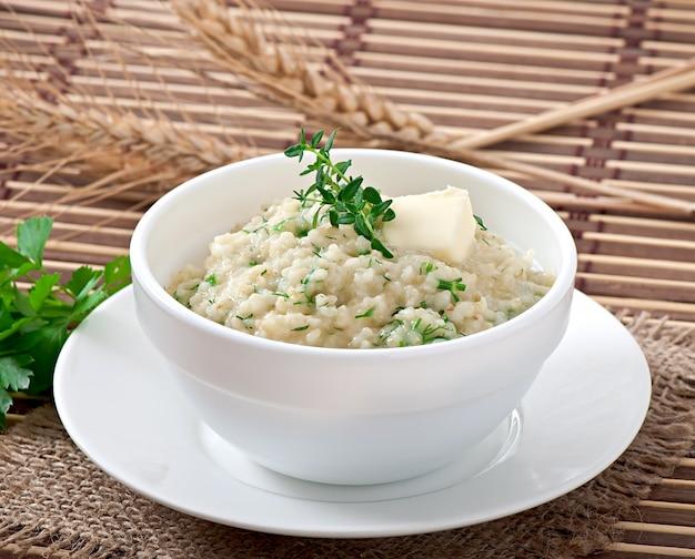 ハーブと小麦のおridge