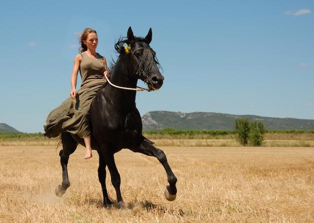 10代の乗馬