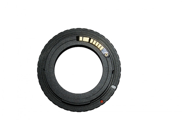 Ring adapter for vintage lens with chip-focus