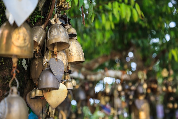 Ring bells in temple. bell sound is auspicious which welcome divinity and dispels evil.