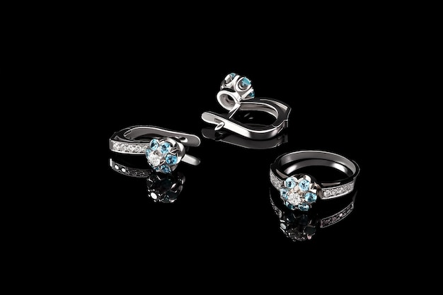 Ring and earring