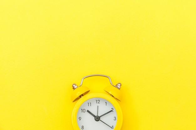 Ringing twin bell vintage classic alarm clock