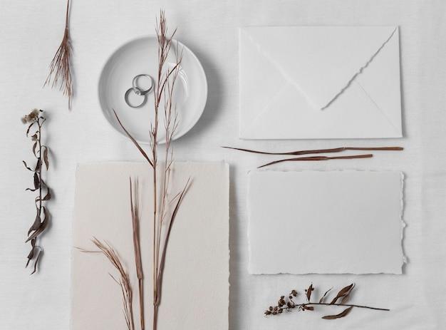 Anelli e disposizione dei piatti