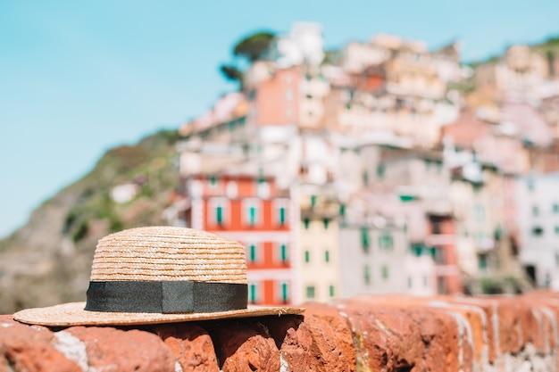 Riomaggiore in old cinque terre, liguria, italy