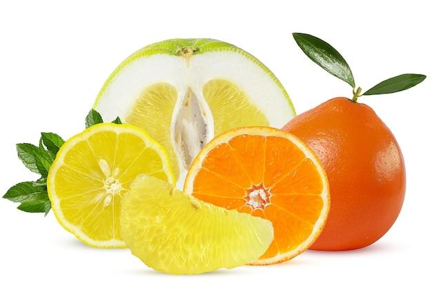 熟したジューシーな柑橘系の果物