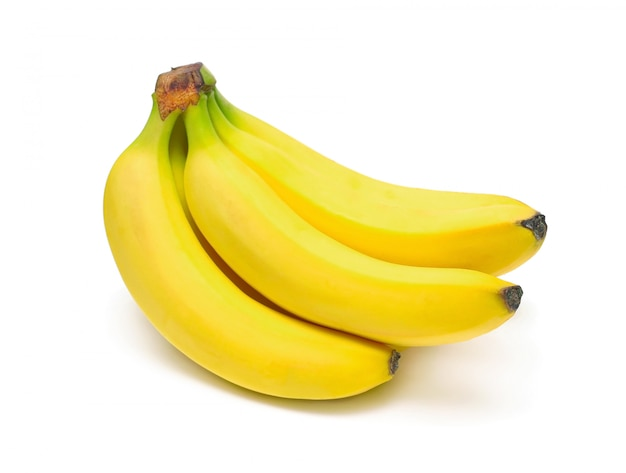 Ripe bananas bunch