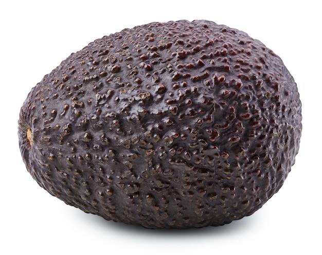 Спелые свежие авокадо на белом