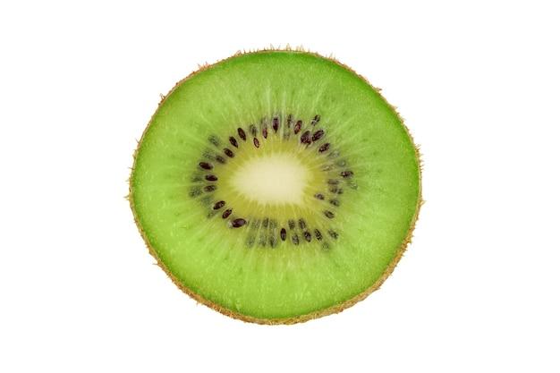 잘 익은 신선한 육즙 단일 키위 과일