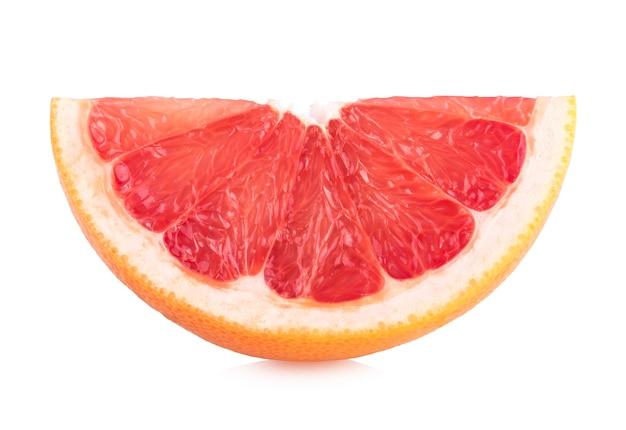 熟したグレープフルーツスライス