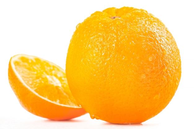 Ripe tasty orange
