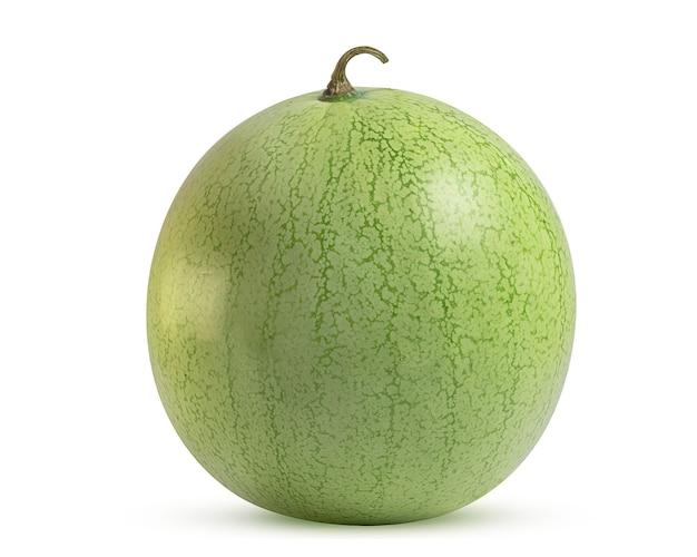 Ripe watermelon with light peel