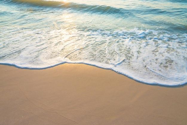 Ripple on sandy beach