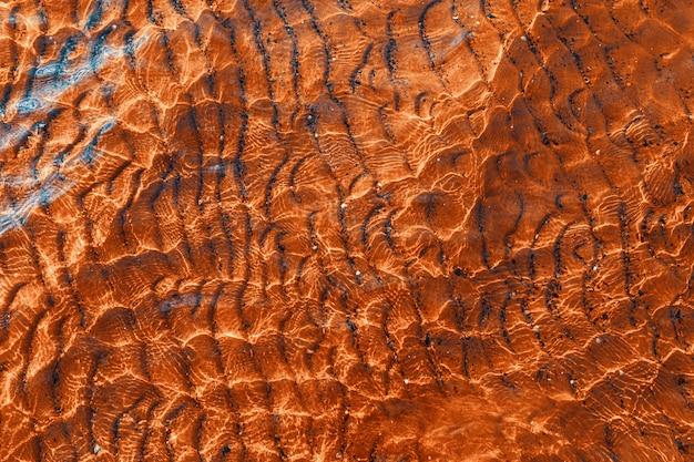 波状の水のテクスチャの背景。波の抽象的な背景