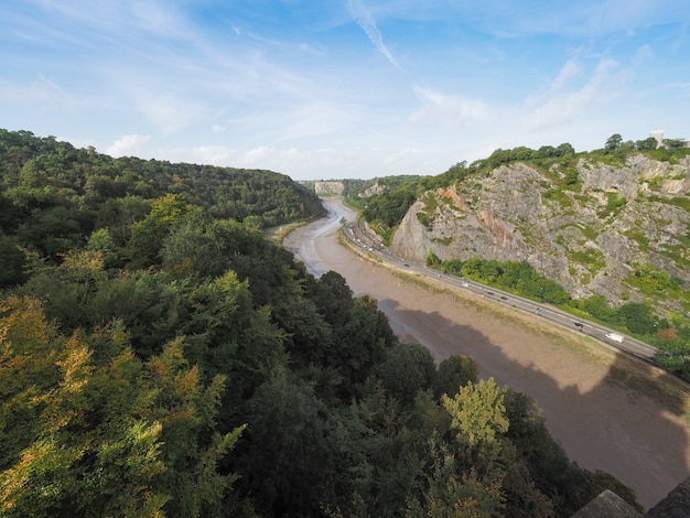 Ущелье реки эйвон в бристоле