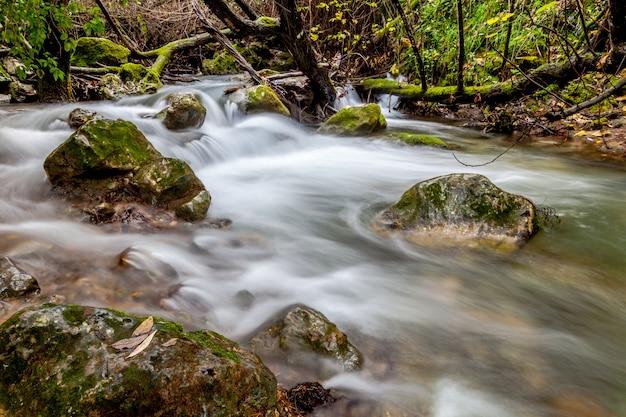 Majaceite川、el bosque、カディス、スペイン