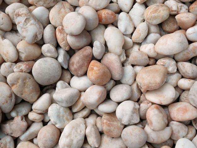 River pebble stone  texture.  nature background.