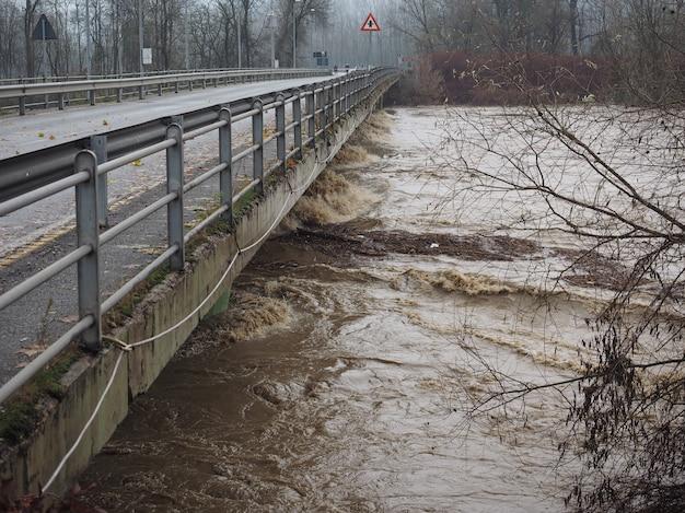 Разлив реки по в турине
