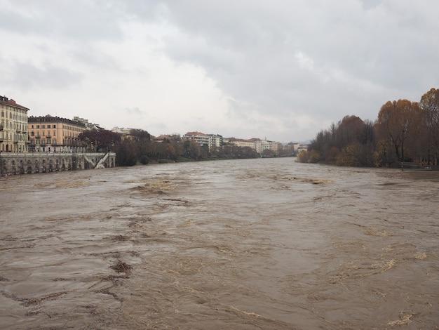 토리노의 포강 홍수