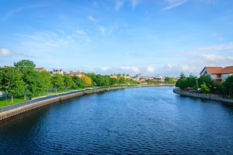 River tees at Stockton-on-tees
